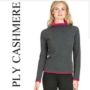 100% cashmere sweater double layer